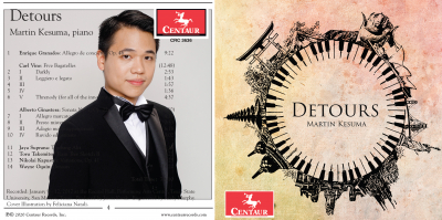 Martin Kesuma CD release